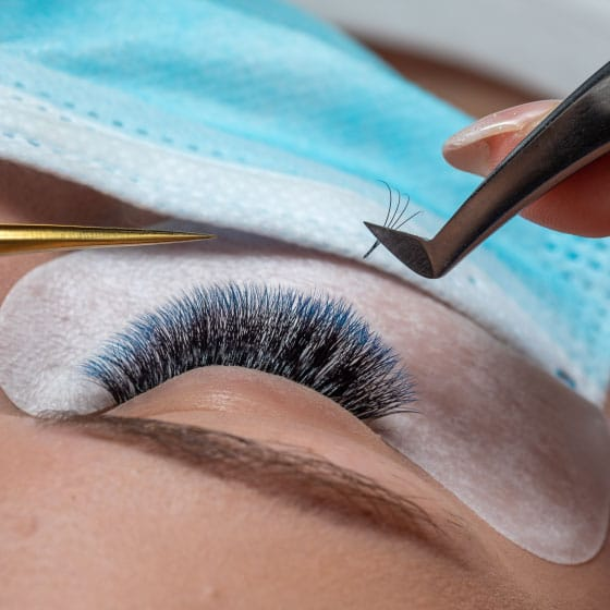 2D Eyelash Extensions in Sydney