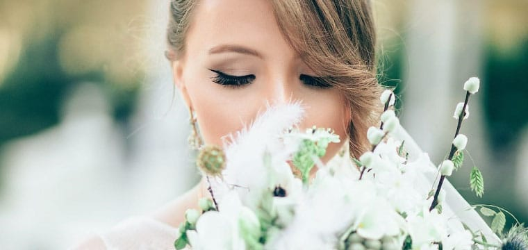Eyelash extensions for your wedding day