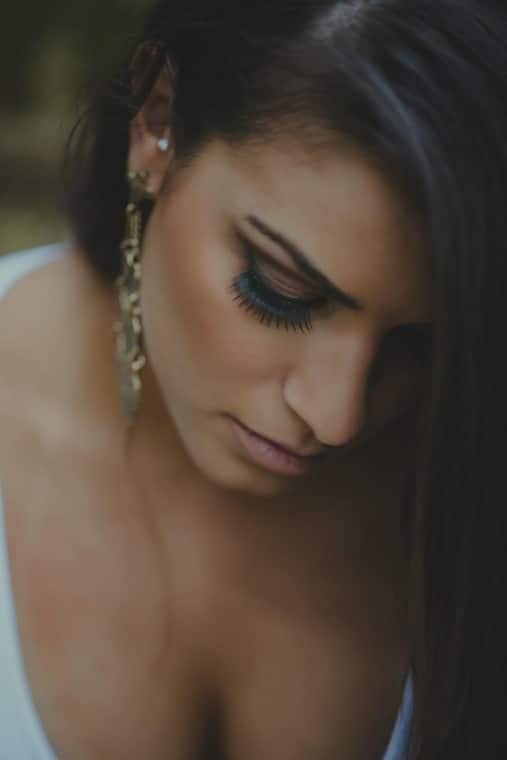 eyelash extensions wedding