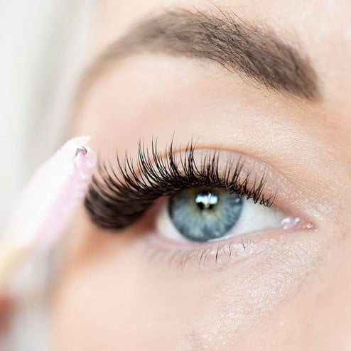 home remedies to clean eyelash extensions
